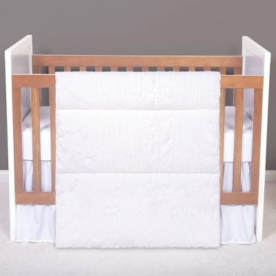 Trend Lab Simply White Crib Bedding Set - 3pc