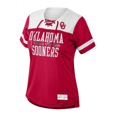 NCAA Oklahoma Sooners  Women's Gametime Jersey