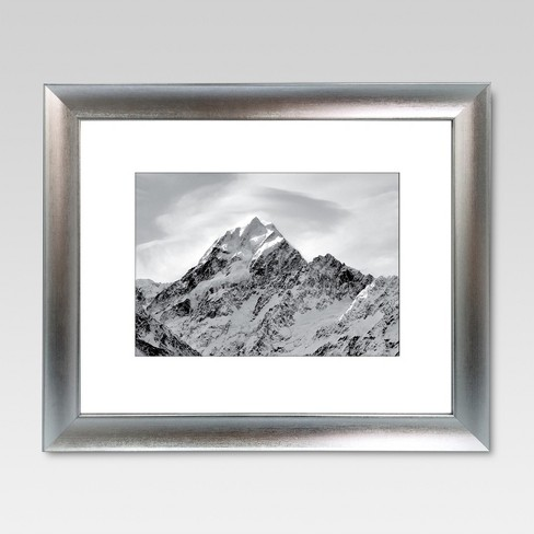 Matted Silver Frame - Threshold™ - image 1 of 4