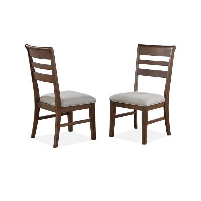 "18"" Set of 2 Ora Side Chairs Walnut - Steve Silver"