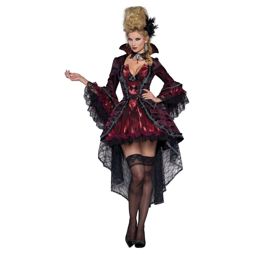 Image of Halloween Women's Renaissance Costume - Medium, Red
