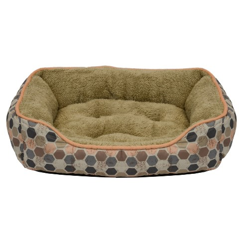 Dallas Box Bed for Cats & Small Dogs - Peach - 19'' - image 1 of 1