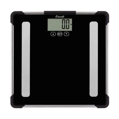 Body Analyzing Bathroom Scale Black - Escali