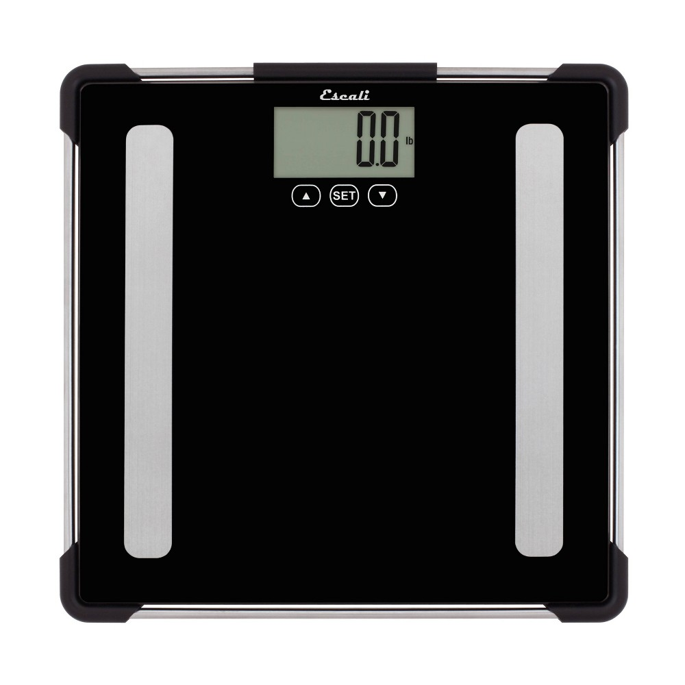 Image of Body Analyzing Bathroom Scale Black - Escali