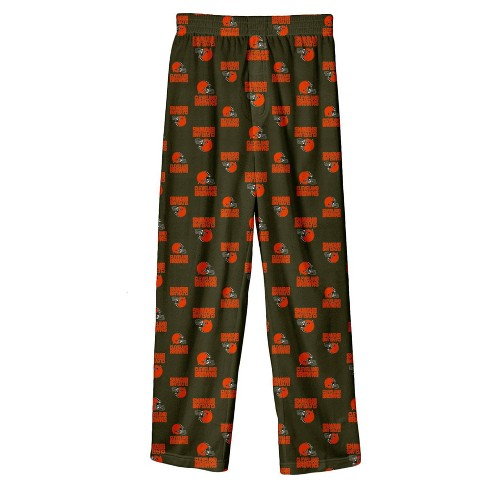 NFL Cleveland Browns Boys' All Over Print Lounge Pants - image 1 of 1