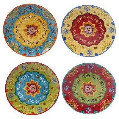 Dinner Plate 10.5  Tunisian Sunset Set of 4 - Certified International