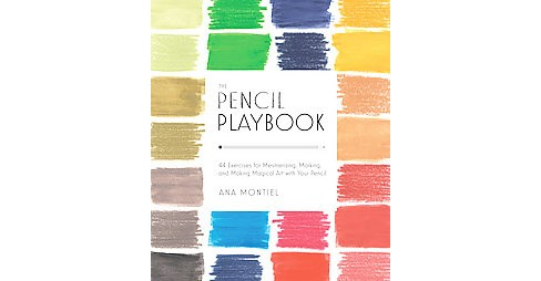 The Pencil Playbook Adult Coloring Book: 44 Exercises for Mesmerizing, Marking, and Making Magical Art With Your Pencil - image 1 of 1