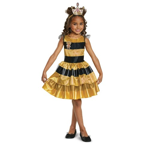 Girls' L.O.L Dolls Queen Bee Halloween Costume - image 1 of 1