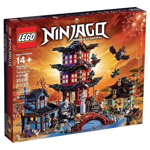 Lego Ninjago Temple Of Airjitzu 70751 Target