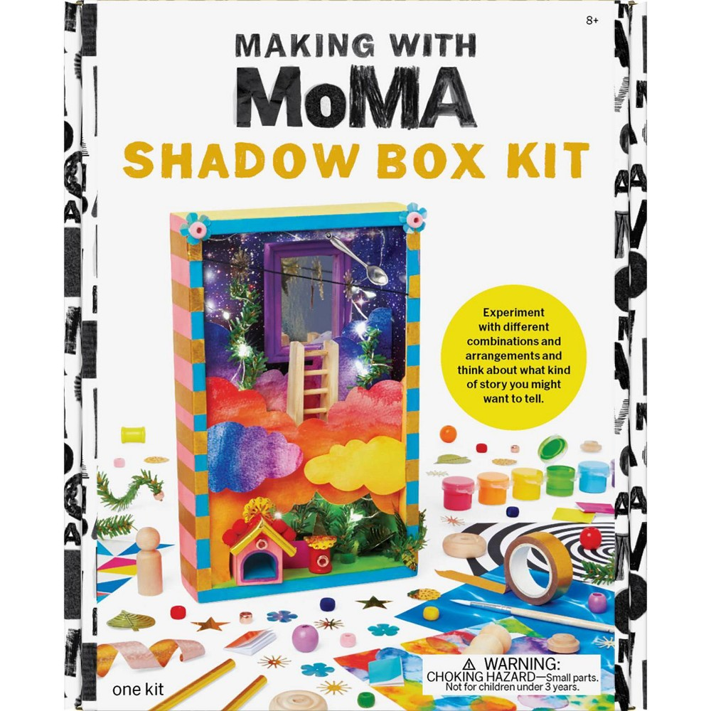 Image of Art Making with MoMA Shadow Box Kit