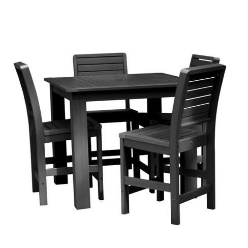 Weatherly 5pc Square Counter Dining Set - Highwood - image 1 of 7