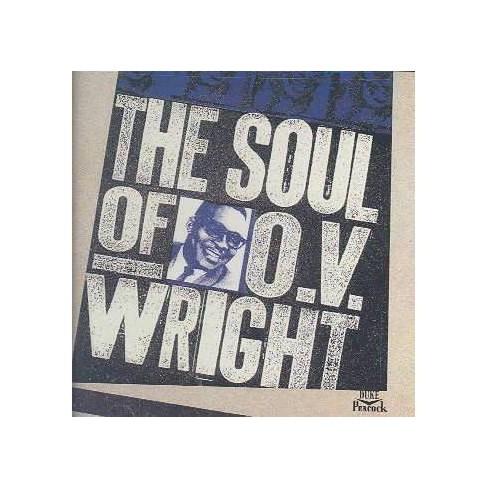 O.V. Wright - The Soul Of O. V. Wright (CD) - image 1 of 1