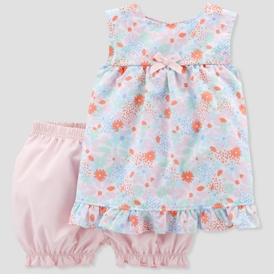 Baby Girls' 2pc Floral Set - Just One You® made by carter's Pink 6M