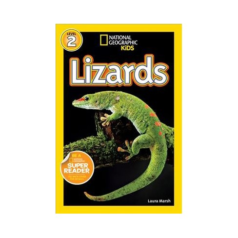 Lizards - (National Geographic Readers: Level 1) by  Laura Marsh (Paperback) - image 1 of 1