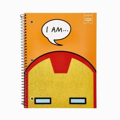 Spiral Notebook 1 Subject College Ruled Iron Man - Yoobi™