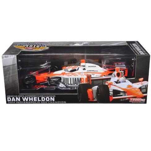 2011 Dan Wheldon #98 Bryan Herta Autosport Indy 500 Winner Car Tribute Edition Packaging 1/18 Diecast Model Car by - image 1 of 1