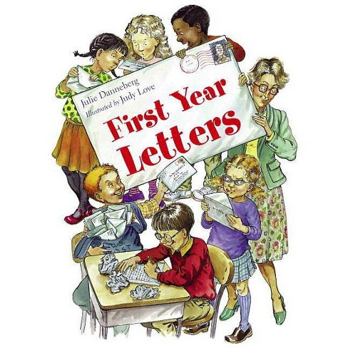 First Year Letters - (Jitters) by  Julie Danneberg (Paperback) - image 1 of 1