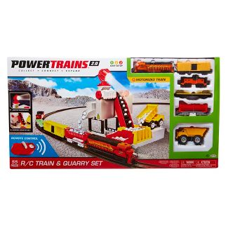 Power Trains Remote Control Motorized Train and Quarry Set