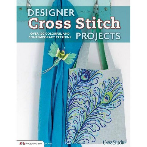 Designer Cross Stitch Projects - (Paperback) - image 1 of 1