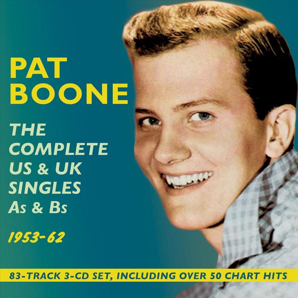 Pat Boone - Complete Us & Uk Singles As & Bs:1953 (CD)
