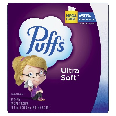 Puffs Ultra Soft Facial Tissue