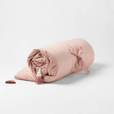 Twin Decorative Solid Chaise Lounge Pillow Blush - Opalhouse™