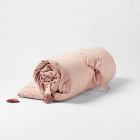 Decorative Solid Lounge Pillow Blush - Opalhouse™ - image 1 of 4