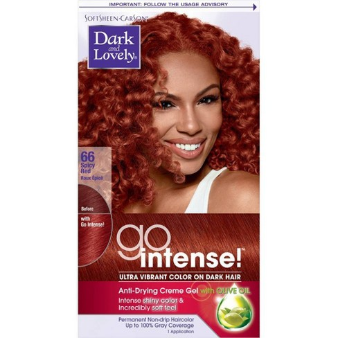 Dark and Lovely Go Intense! Ultra Vibrant Permanent Hair Color - image 1 of 4