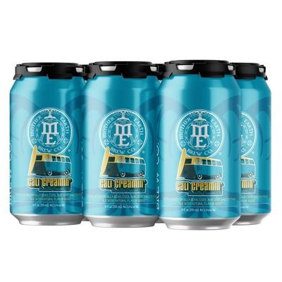 Mother Earth Cali Creamin' Vanilla Cream Ale Beer - 6pk/12 fl oz Cans