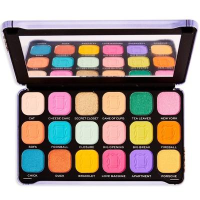 Makeup Revolution X Friends Forever Flawless Eyeshadow Palette - We Were On a Break - 0.7oz