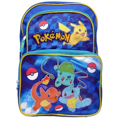 Fashion Accessory Bazaar LLC Pokemon Pikachu 16 Inch Backpack | Blue