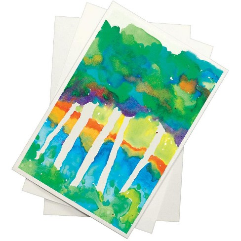 Sax Halifax Cold Press Watercolor Paper, 19 x 24 Inches, 90 lb, White, 25 Sheets - image 1 of 1