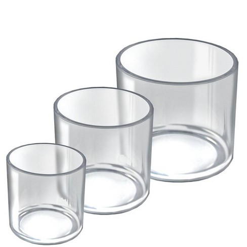 """Azar Displays 4"""", 5"""", & 6'' Dia. Deluxe Cylinder Set For Countertop - image 1 of 1"""