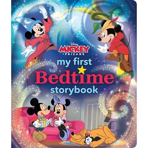 My First Mickey Mouse Bedtime Storybook - (My First Bedtime Storybook) (Hardcover) - image 1 of 1