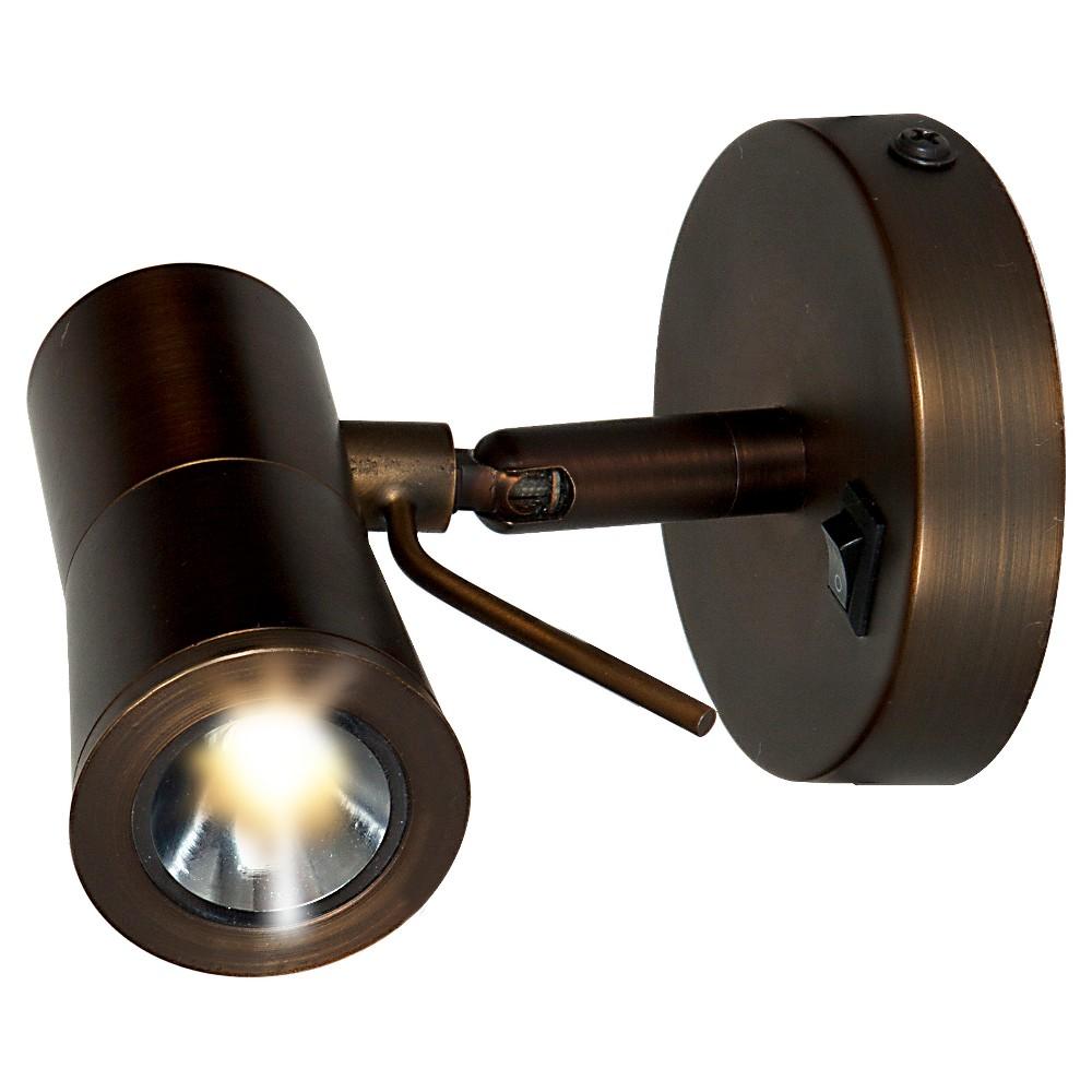 Image of Cyprus LED Plug-In Headboard Lamp - Bronze