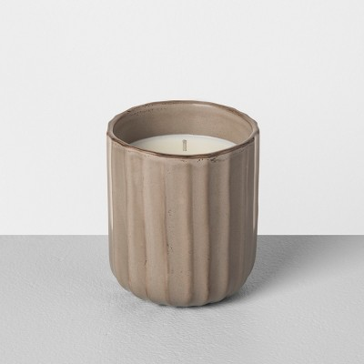 Container Candle Frosted Amber - Hearth & Hand™ with Magnolia