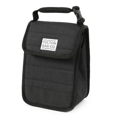 Fulton Bag Co. Quilted Lunch Sack - Black