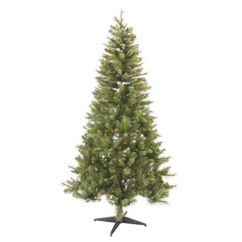 Douglas Fir Christmas Tree.6 5ft Pre Lit Artificial Christmas Tree Douglas Fir Clear Lights Wondershop