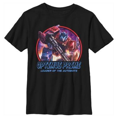 Boy's Transformers Optimus Prime Autobots Leader T-Shirt