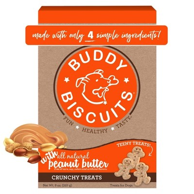 Buddy Biscuits Peanut Butter Puppy Dry Dog Treats - 8oz