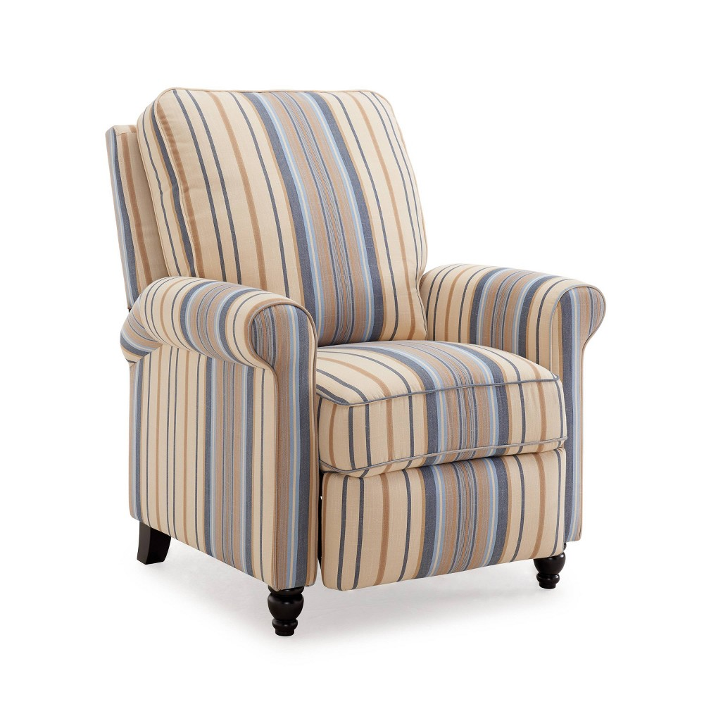 Prolounger Push Back Recliner Chair Blue - Handy Living