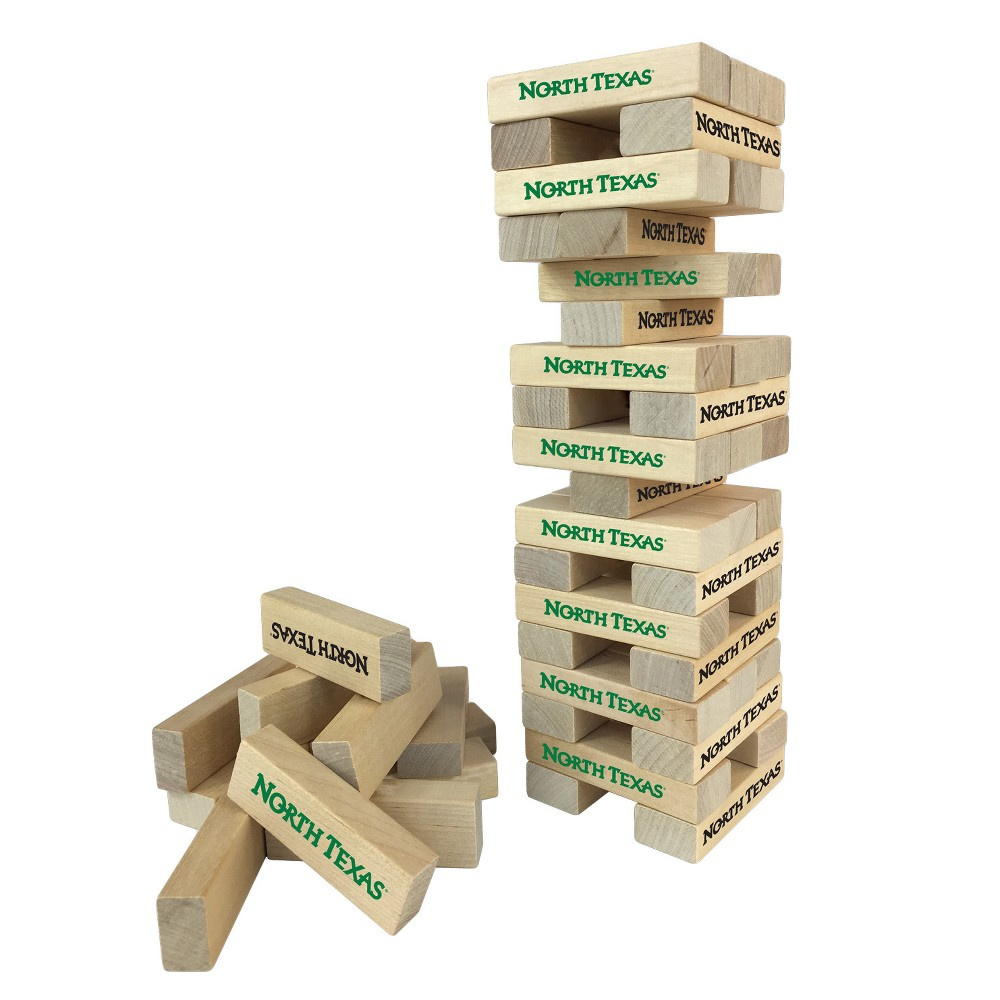 NCAA Wild SportsTabletop Stackers Game North Texas Mean Green