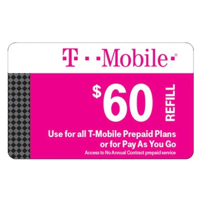 T-Mobile Prepaid Refill eCard (Email Delivery)