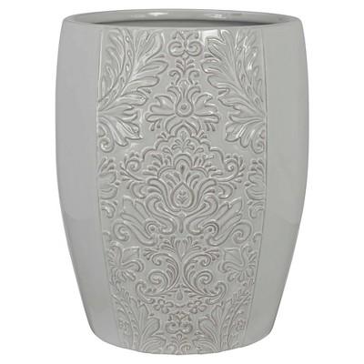 Heirloom Wastebasket Gray - Creative Bath®