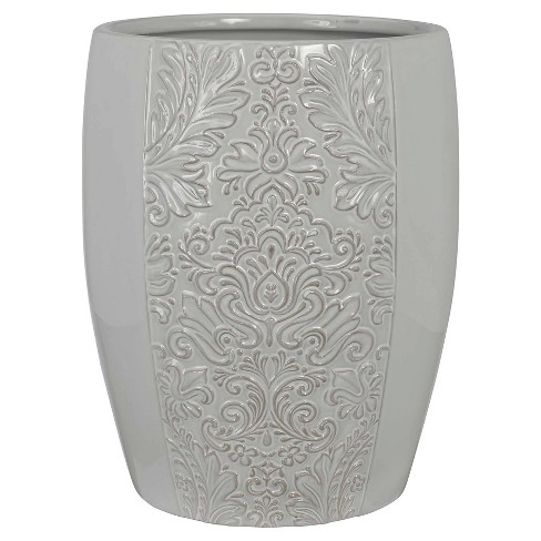 Heirloom Wastebasket Gray - Creative Bath® - image 1 of 1