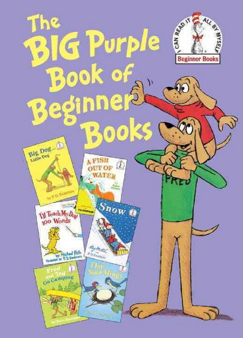 The Big Purple Book of Beginner Books (Beginner Books Series) (Hardcover) by Helen Palmer - image 1 of 1