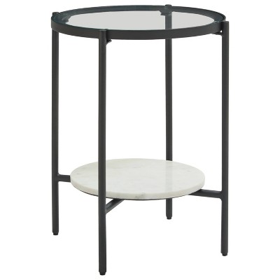 Zalany End Table Black/White - Signature Design by Ashley