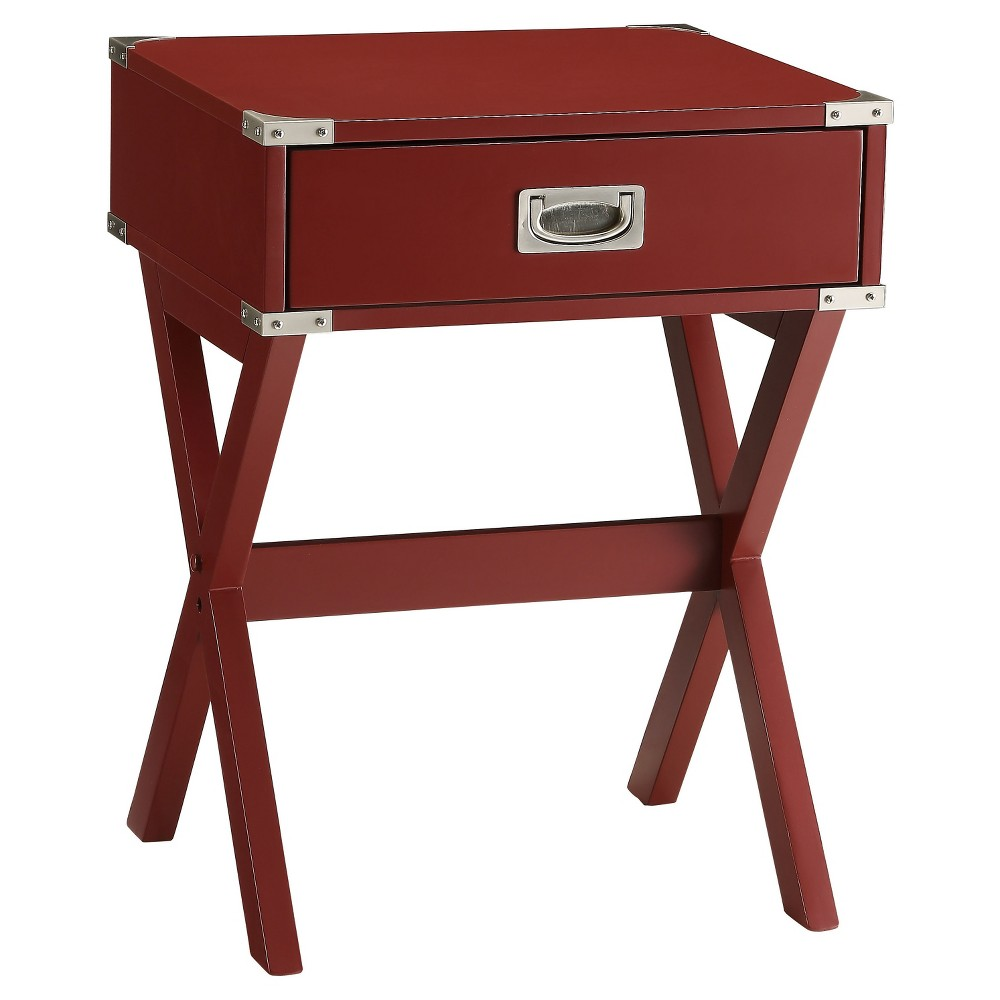 End Table Red - Acme Furniture End Table Red - Acme Furniture Gender: unisex.