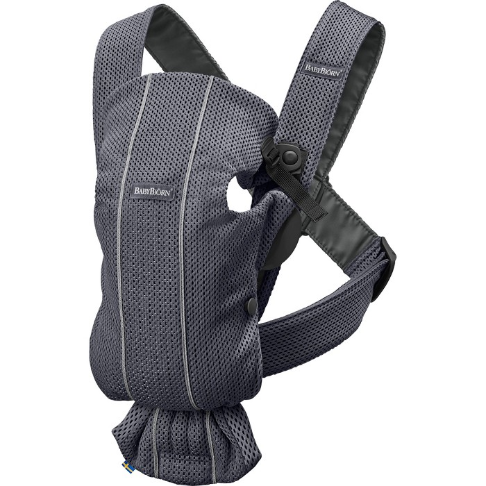 BABYBJRN - Carrier Mini Anthracite - image 1 of 9