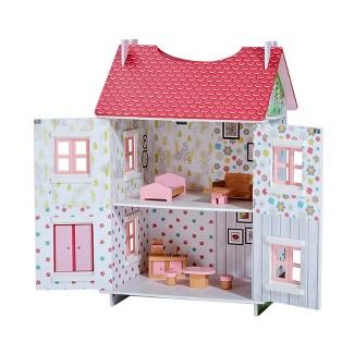 Teamson Garden Cottage Portable Dollhouse